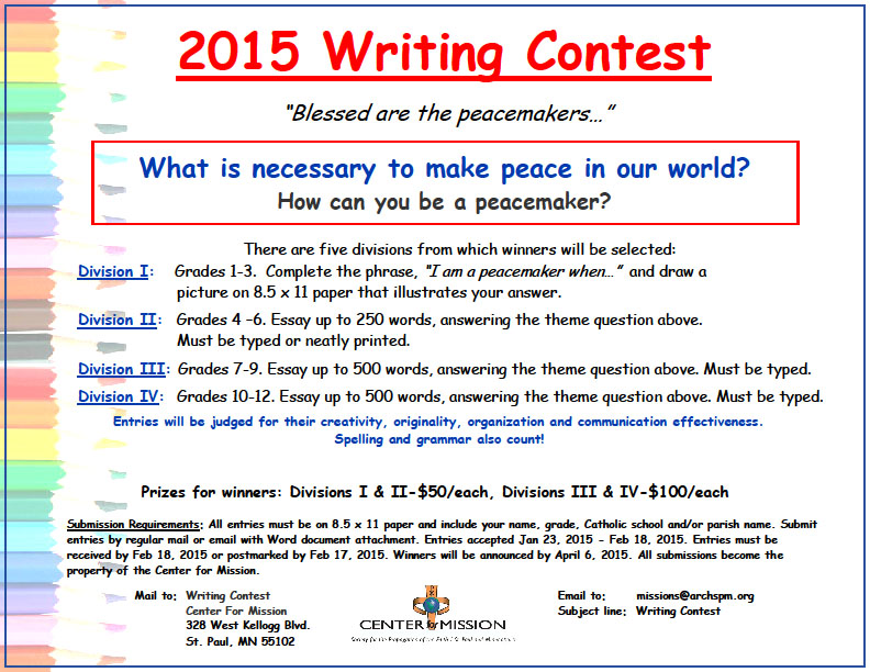 writing contests for children