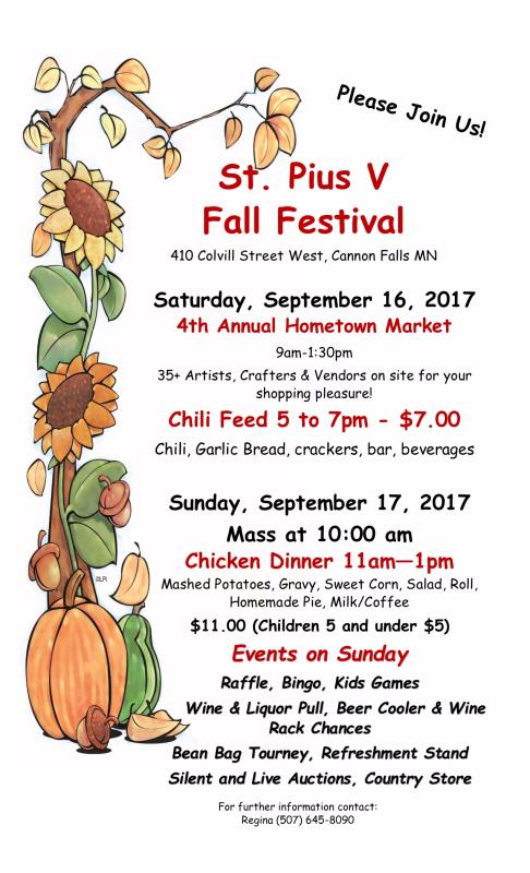 Fall Festival Flyer 2017