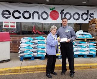 Econofoods donation